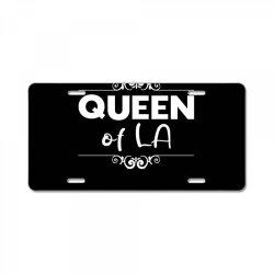 Queen of LA License Plate | Artistshot