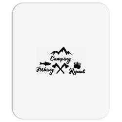 camp fish repeat Mousepad | Artistshot