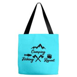 camp fish repeat Tote Bags | Artistshot