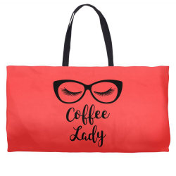 coffee lady Weekender Totes | Artistshot