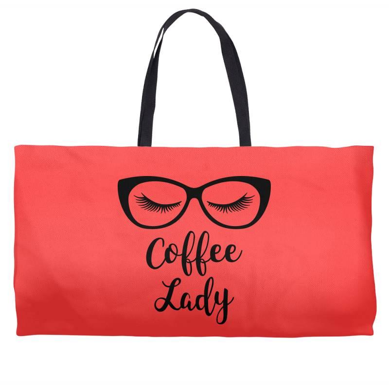 Coffee Lady Weekender Totes | Artistshot