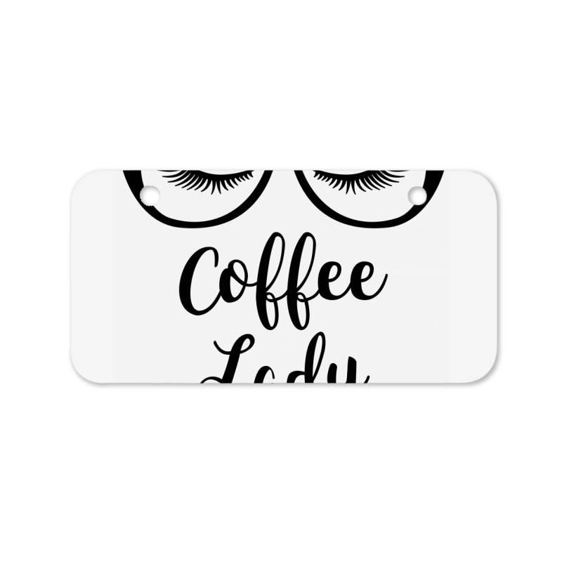Coffee Lady Bicycle License Plate | Artistshot