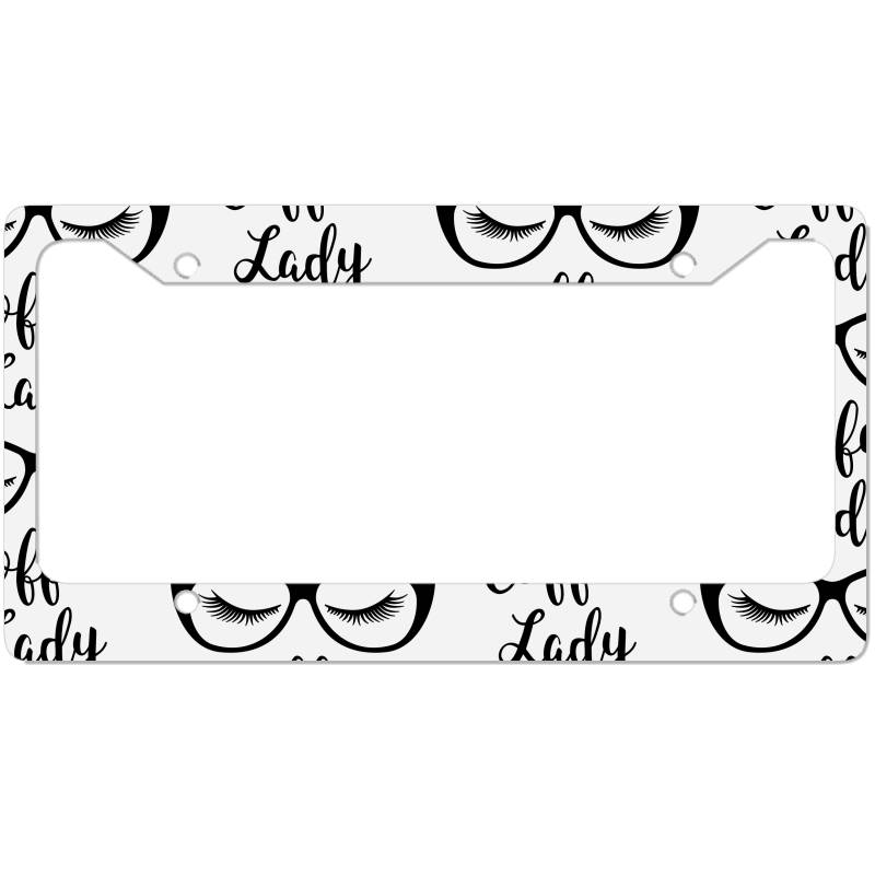 Coffee Lady License Plate Frame | Artistshot
