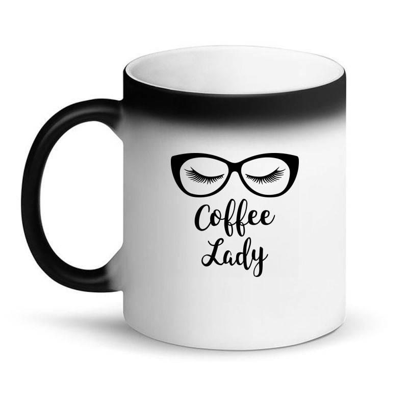 Coffee Lady Magic Mug | Artistshot