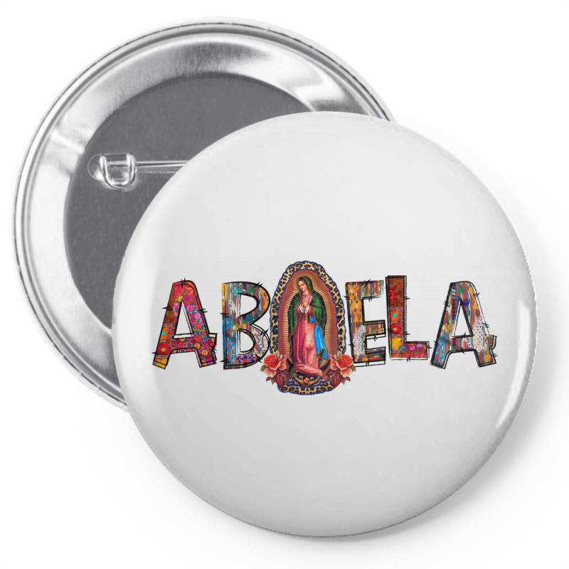 Abuela Our Lady Pin-back Button | Artistshot