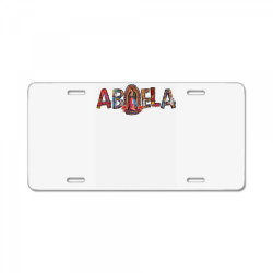 Abuela Our Lady License Plate | Artistshot