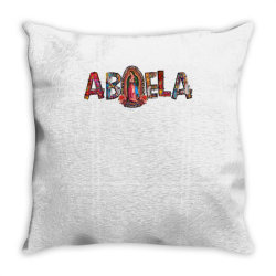 Abuela Our Lady Throw Pillow | Artistshot