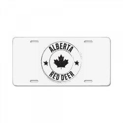 Red Deer -  Alberta License Plate | Artistshot