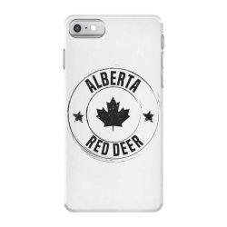 Red Deer -  Alberta iPhone 7 Case | Artistshot