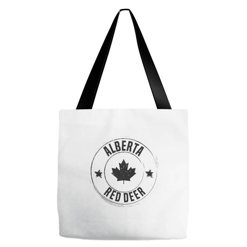 Red Deer -  Alberta Tote Bags   Artistshot