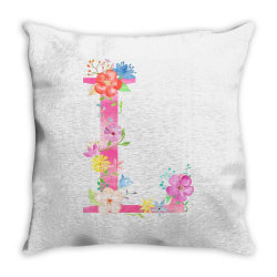 L Throw Pillow | Artistshot