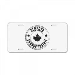 Grande Prairie -  Alberta License Plate | Artistshot