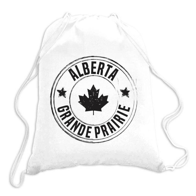 Grande Prairie -  Alberta Drawstring Bags | Artistshot