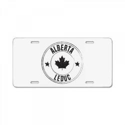 Leduc -  Alberta License Plate | Artistshot