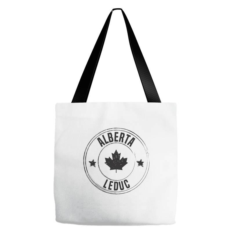 Leduc -  Alberta Tote Bags | Artistshot