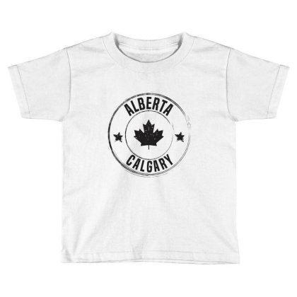 Calgary -  Alberta Toddler T-shirt Designed By Chris Ceconello