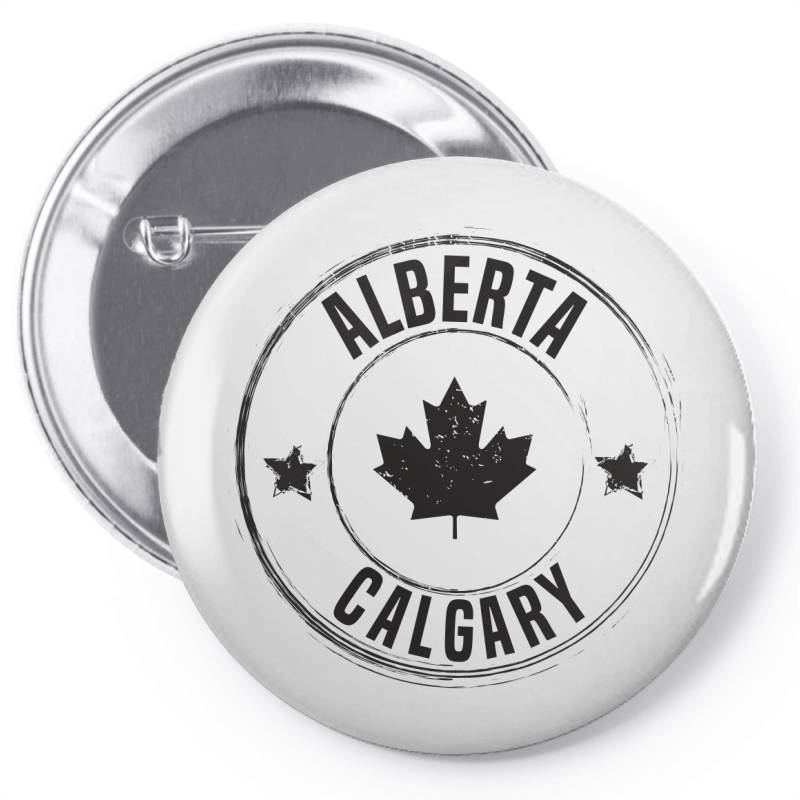 Calgary -  Alberta Pin-back Button | Artistshot