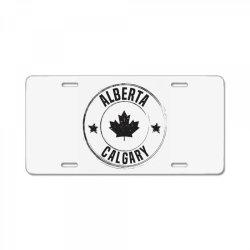 Calgary -  Alberta License Plate | Artistshot