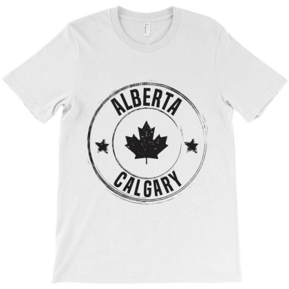 Calgary -  Alberta T-shirt Designed By Chris Ceconello