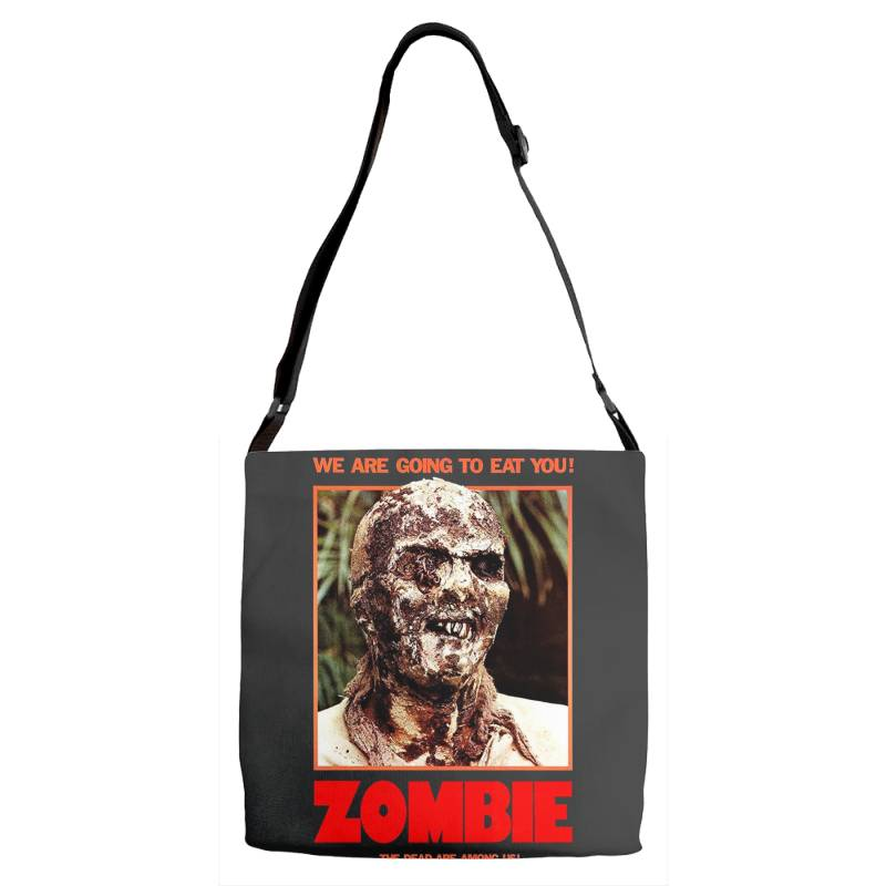 Zombie 2. Zombie Flesh Eaters Adjustable Strap Totes | Artistshot
