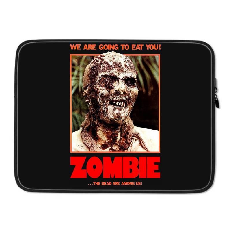 Zombie 2. Zombie Flesh Eaters Laptop Sleeve   Artistshot