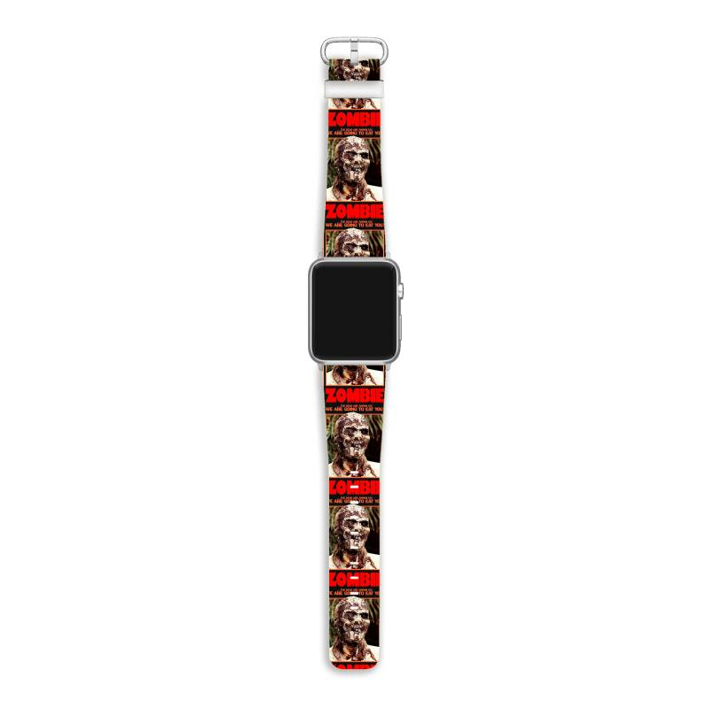 Zombie 2. Zombie Flesh Eaters Apple Watch Band | Artistshot