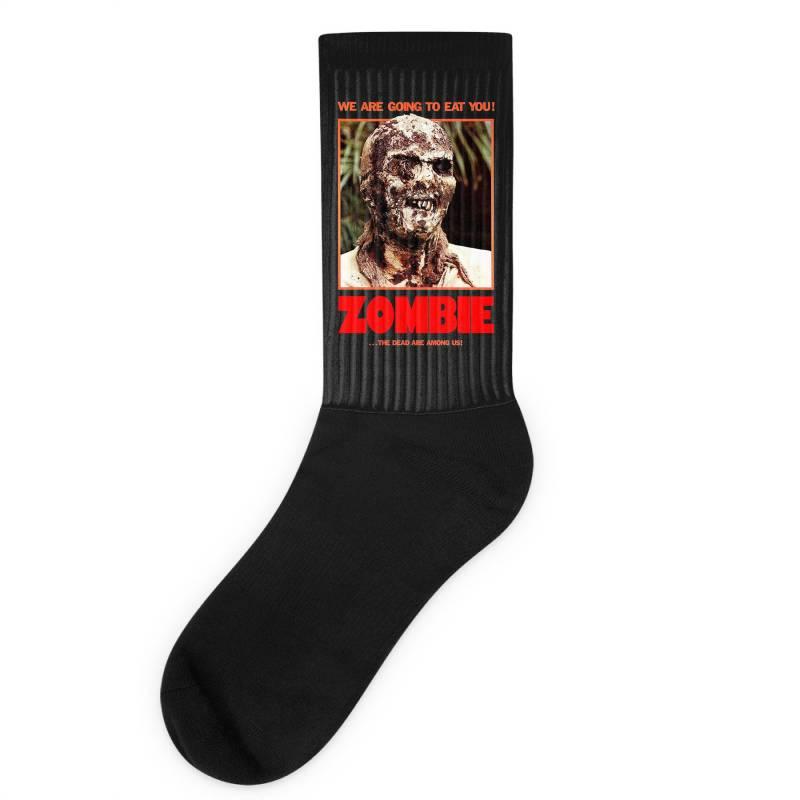 Zombie 2. Zombie Flesh Eaters Socks   Artistshot