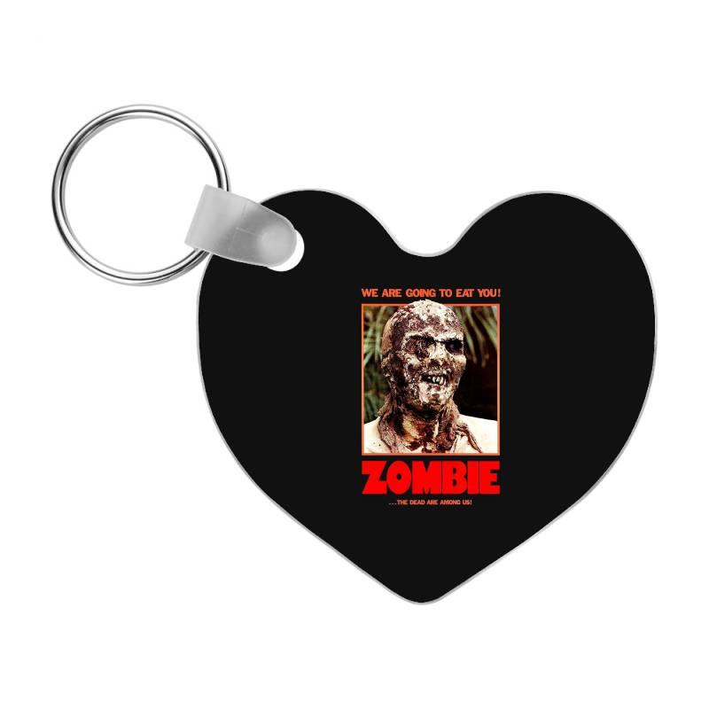 Zombie 2. Zombie Flesh Eaters Frp Heart Keychain | Artistshot