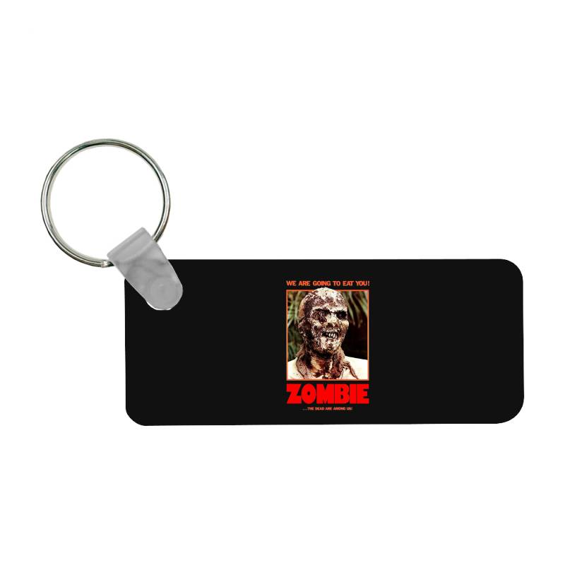 Zombie 2. Zombie Flesh Eaters Frp Rectangle Keychain | Artistshot