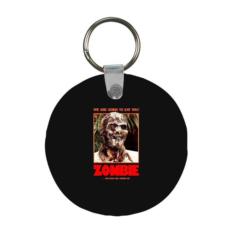 Zombie 2. Zombie Flesh Eaters Frp Round Keychain | Artistshot