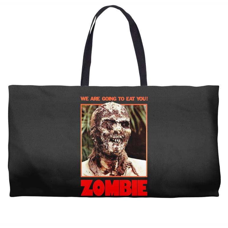 Zombie 2. Zombie Flesh Eaters Weekender Totes | Artistshot