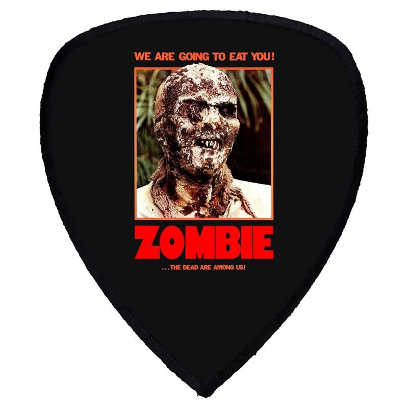 Zombie 2. Zombie Flesh Eaters Shield S Patch | Artistshot