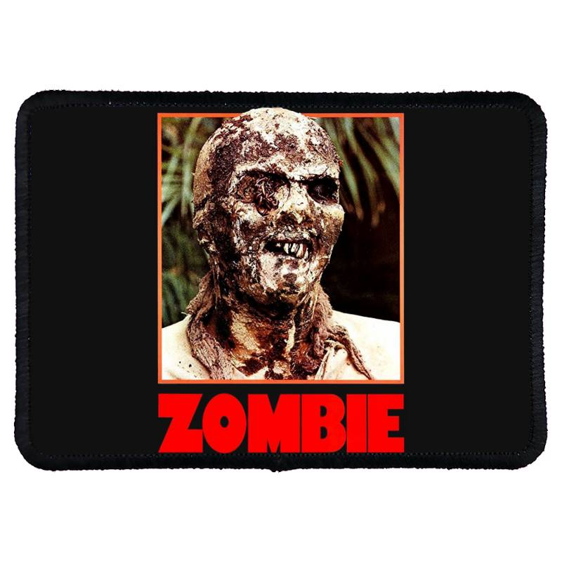 Zombie 2. Zombie Flesh Eaters Rectangle Patch | Artistshot