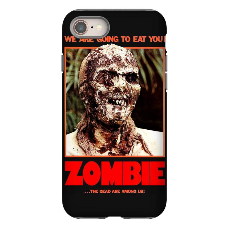 Zombie 2. Zombie Flesh Eaters Iphone 8 Case   Artistshot
