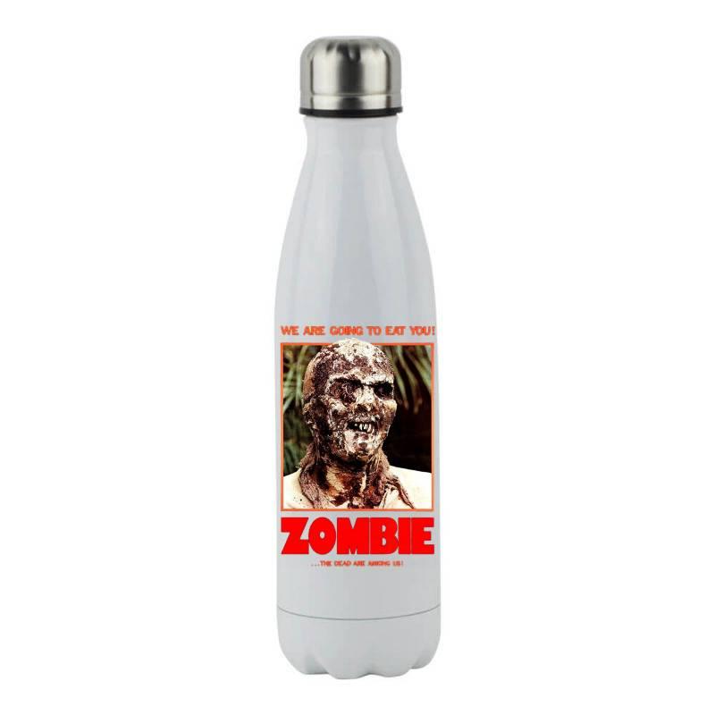 Zombie 2. Zombie Flesh Eaters Stainless Steel Water Bottle   Artistshot