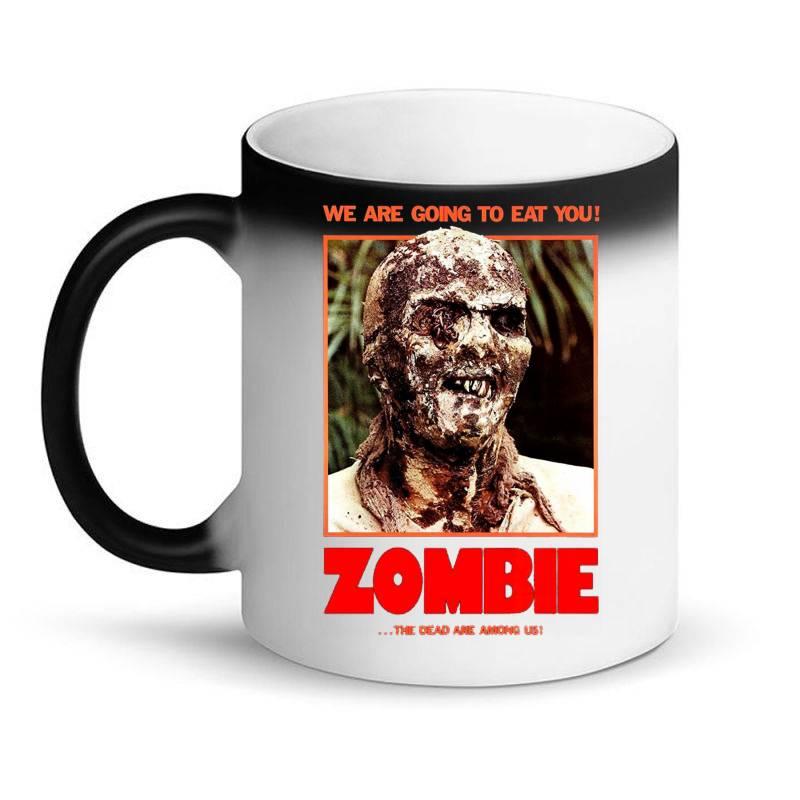 Zombie 2. Zombie Flesh Eaters Magic Mug | Artistshot