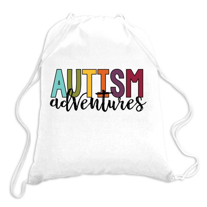 Autism Adventures Drawstring Bags | Artistshot