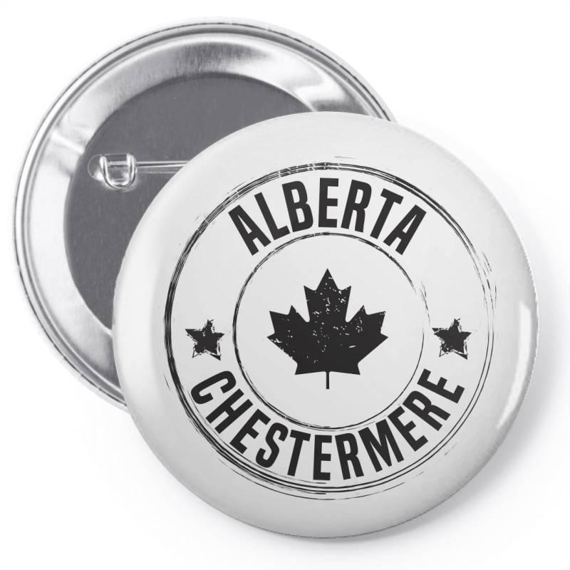 Chestermere -  Alberta Pin-back Button | Artistshot