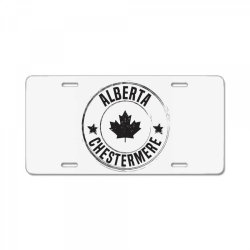 Chestermere -  Alberta License Plate | Artistshot