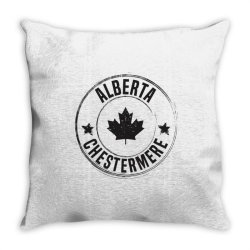 Chestermere -  Alberta Throw Pillow | Artistshot