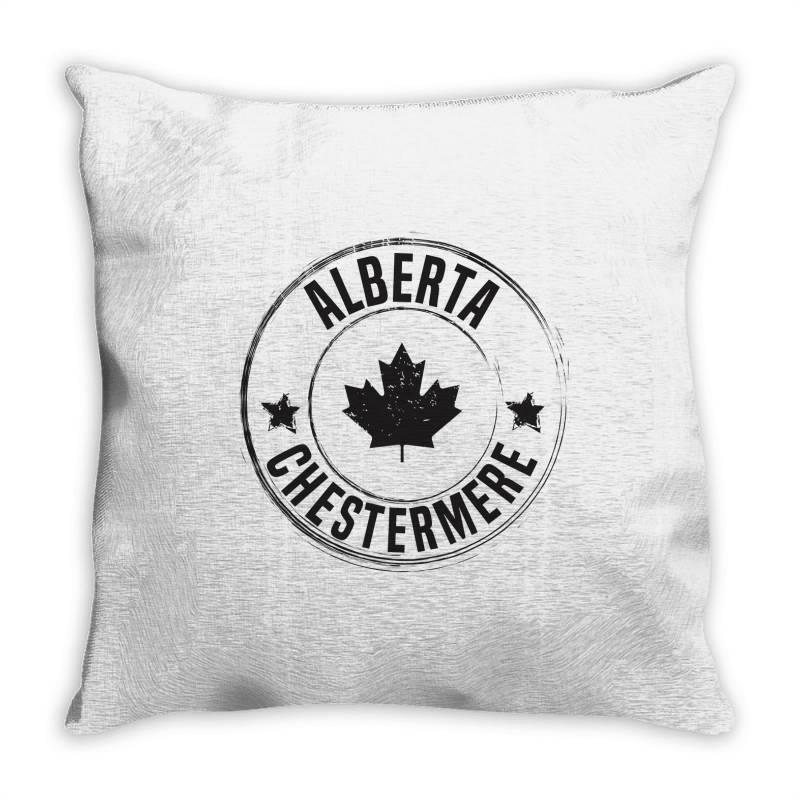 Chestermere -  Alberta Throw Pillow | Artistshot
