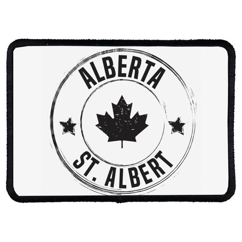 St. Albert -  Alberta Rectangle Patch | Artistshot