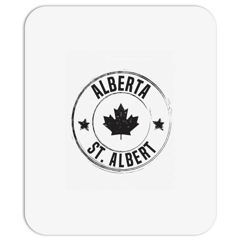 St. Albert -  Alberta Mousepad | Artistshot