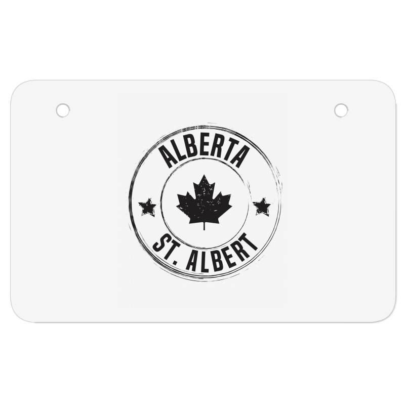 St. Albert -  Alberta Atv License Plate | Artistshot