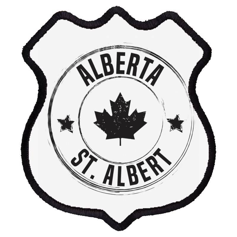 St. Albert -  Alberta Shield Patch | Artistshot