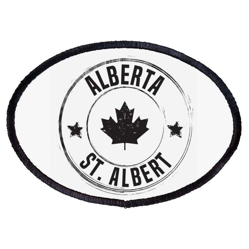 St. Albert -  Alberta Oval Patch | Artistshot