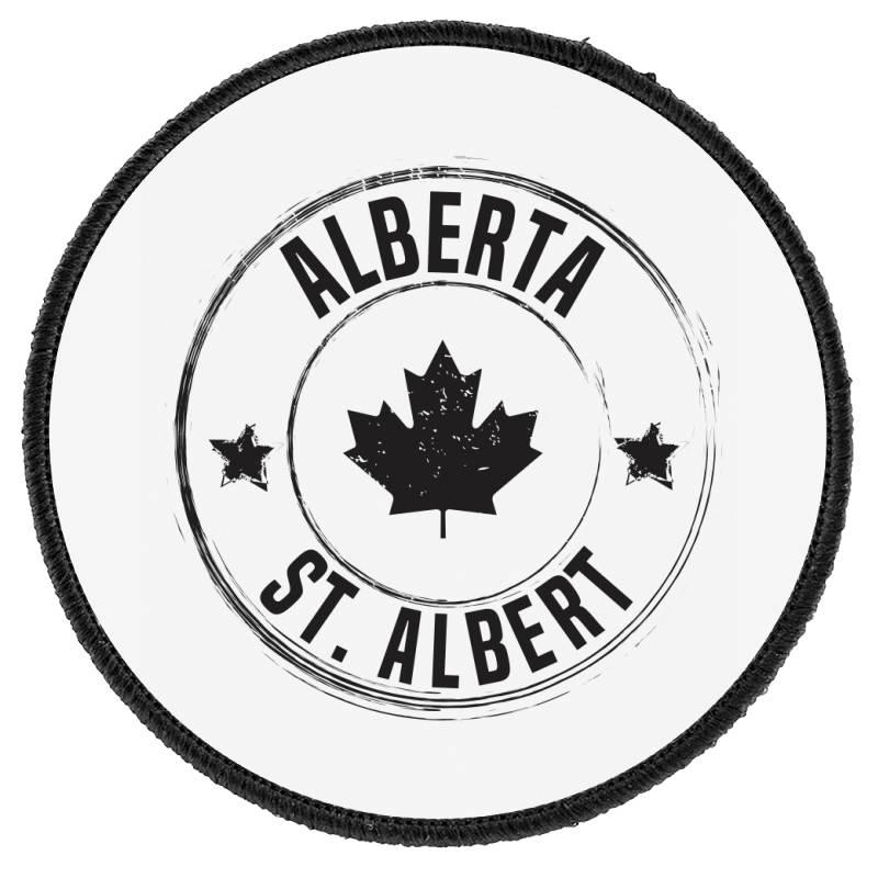 St. Albert -  Alberta Round Patch | Artistshot