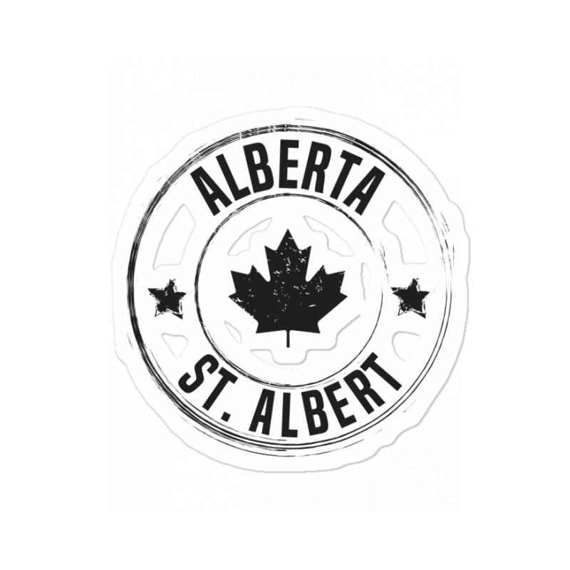 St. Albert -  Alberta Sticker | Artistshot