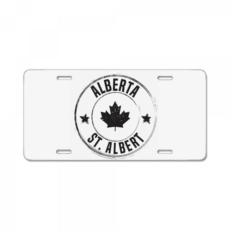 St. Albert -  Alberta License Plate | Artistshot