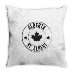 St. Albert -  Alberta Throw Pillow | Artistshot